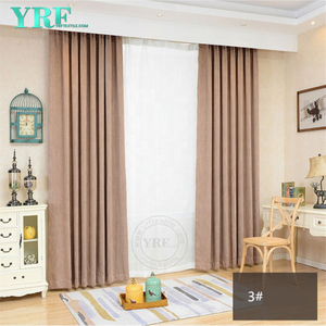 Al por mayor de 54 X 84 Brown Hotel Room cortinas para YRF